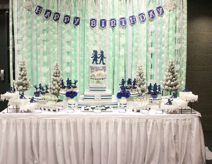 Ice Skating Cake Decorations For Sale