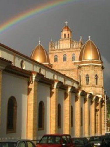 Basilica del Señor de Los Milagros, San Pedro, Antioquia, Colombia.