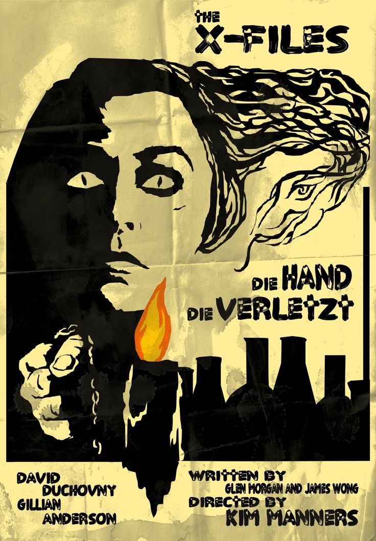 "Die Hand Die Verletzt - Episode 38. I took some inspiration from a poster for the film ""Black Sunday"" but put a number of spins on the design, the biggest being Paddock's hair transforming into the python featured in the episode's climax."