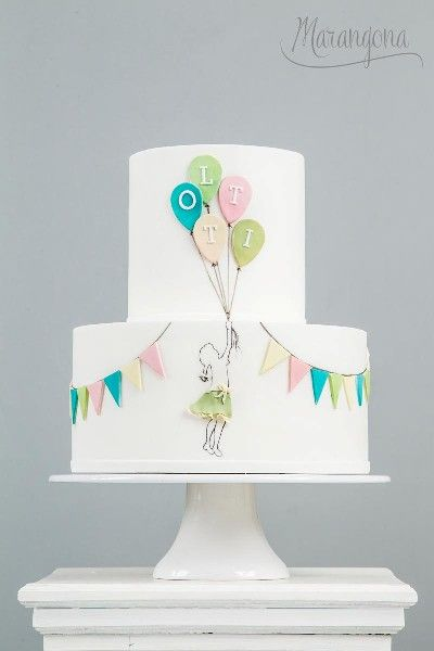 Lotti design cake by Marangona | decoration from sugar | covered by fondant | www.marangona.hu