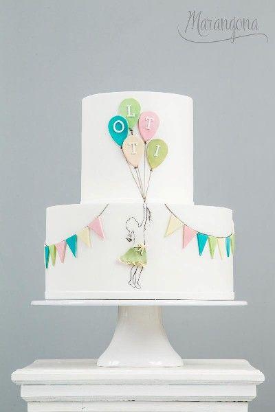 Lotti design cake by Marangona | decoration from sugar | covered by fondant | www.marangona.hu
