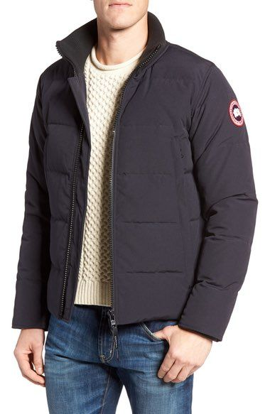 CANADA GOOSE 'Woolford' Down Bomber Jacket. #canadagoose #cloth #