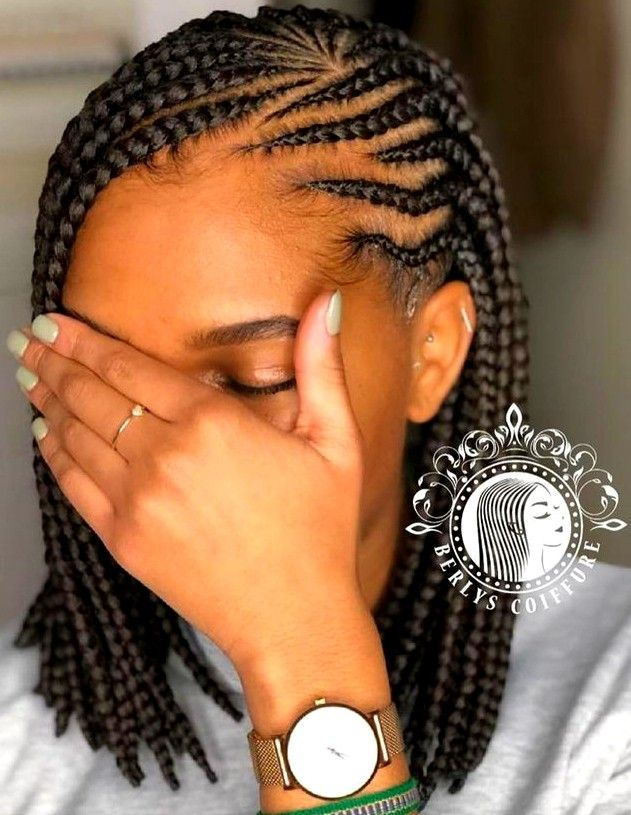 Pin By Claire On Braiding Styles African Hair Braiding Styles Braided Hairstyles Kids Braided Hairstyles