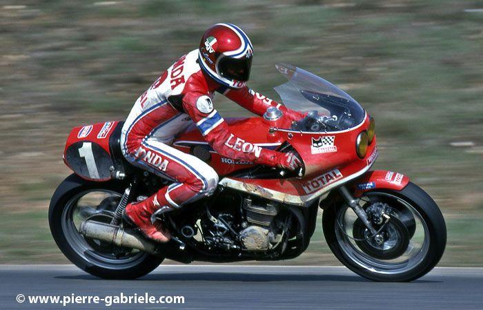 Image - Honda RCB et Christian Léon - Ma passion pour les motos - Skyrock.com