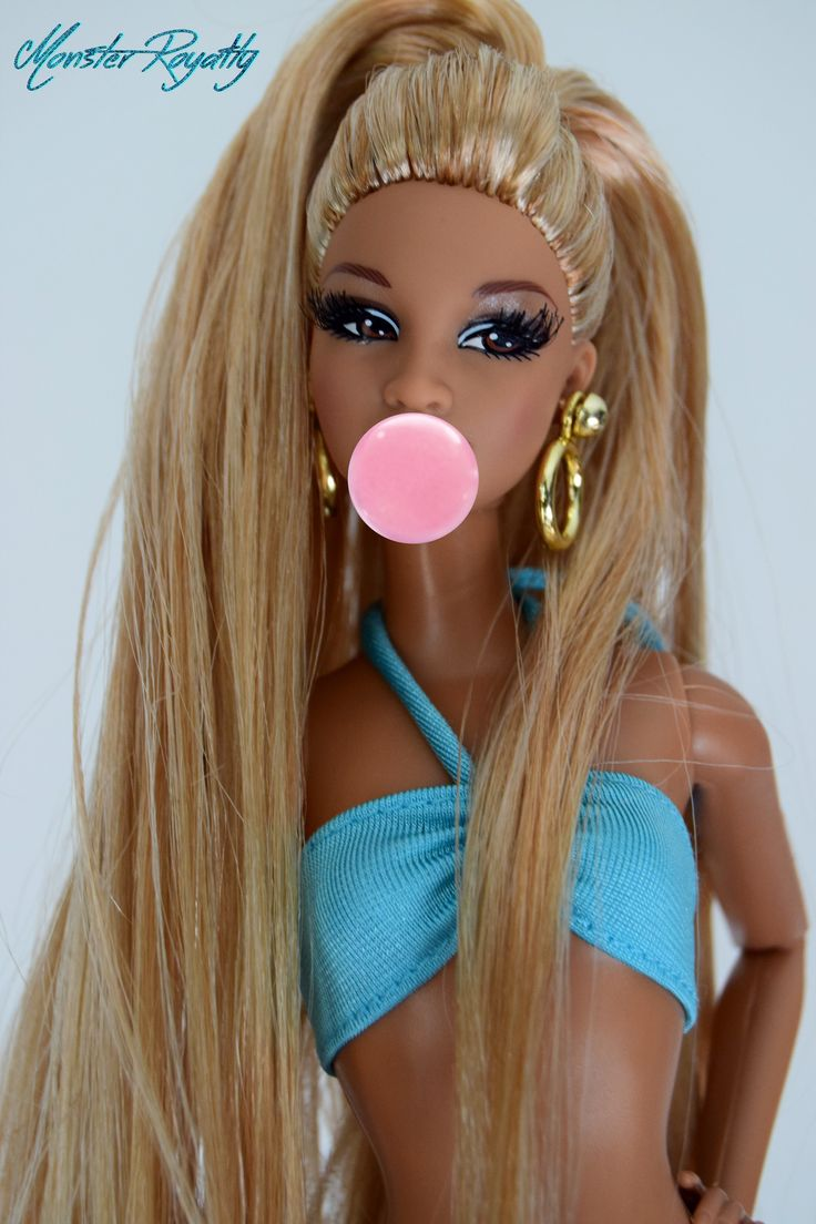 Cute hairstyles for barbie dolls - Trichelle By Monster Royalty Barbies Dollsbarbie
