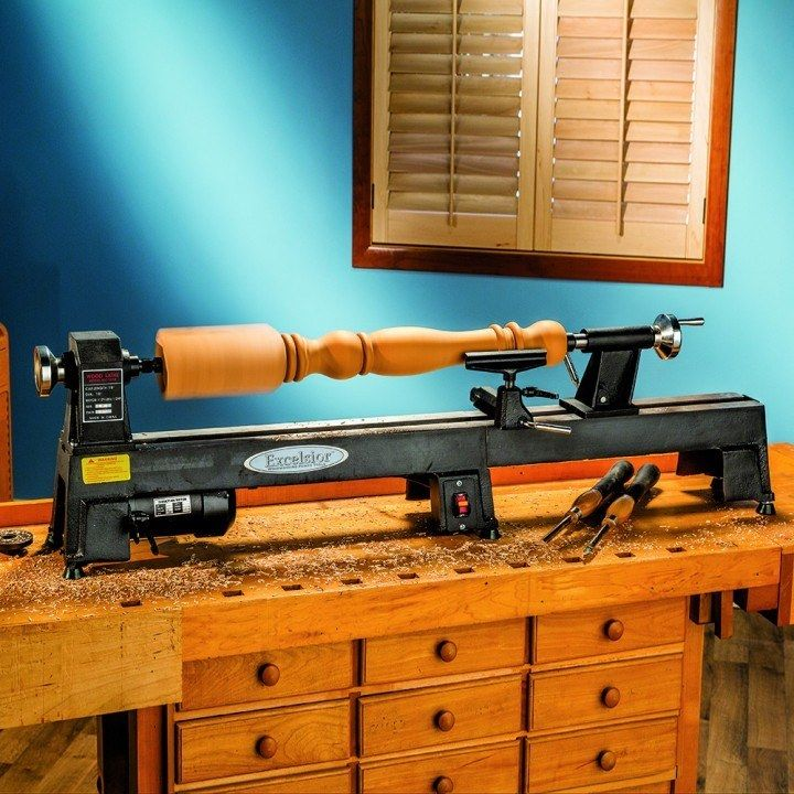 Excelsior 5-Speed Mini Lathe With Free Bed Extension