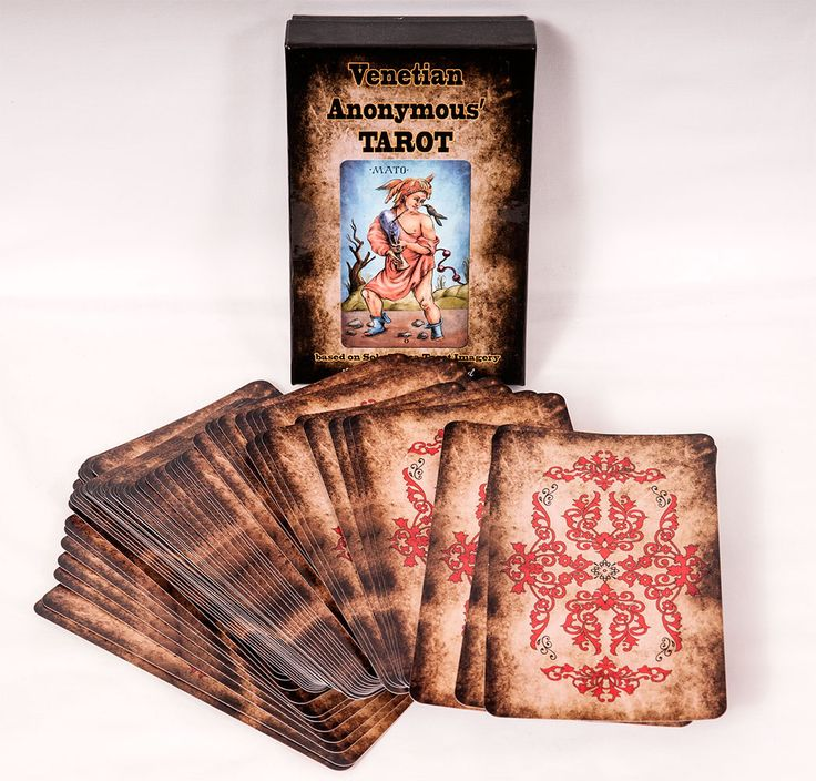 Venetian Anonymous Tarot
