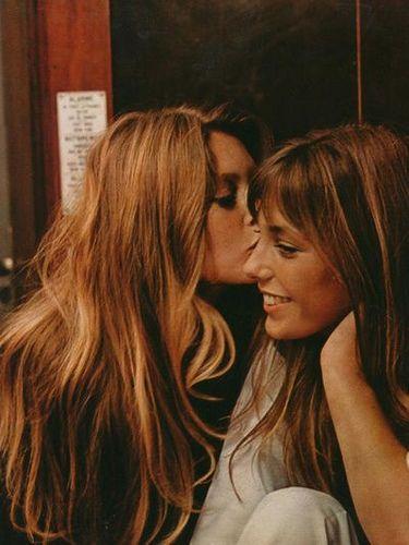 Brigitte Bardot & Jane Birkin