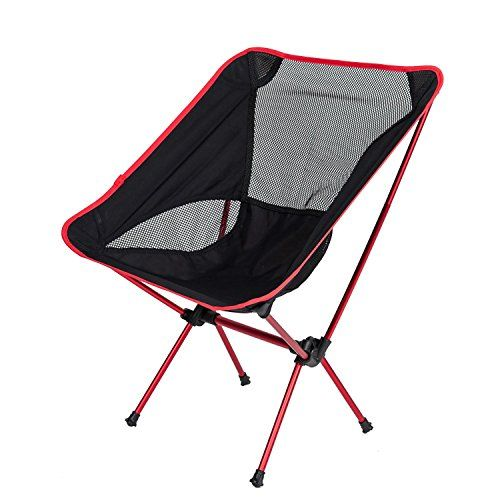 Camp Solutions Outdoor Folding Chair – Ultra-light Camping Chair with a Carrying Bag #deals
