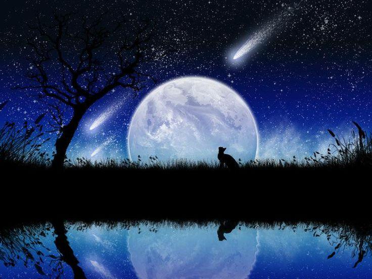 amazing shooting stars space - photo #26