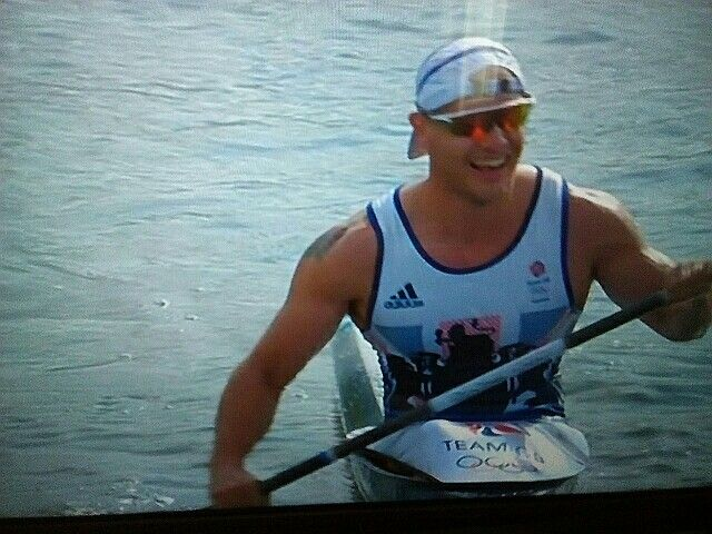 Liam Heath GB Canoe Sprint GOLD... 20 Augustus 16 *A*
