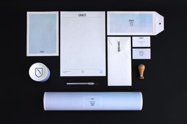 Coast Studio Identity by Sam Curtis, via Behance