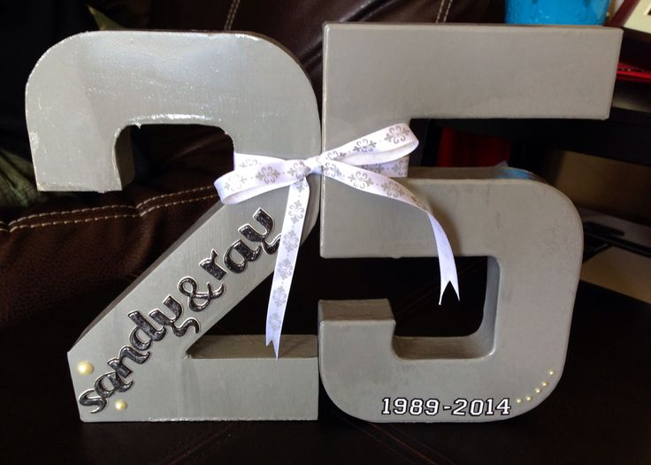 25th Wedding Anniversary Gifts Pinterest : 25th Wedding Anniversary Ideas #Anniversary #Wedding #CustomGifts # ...