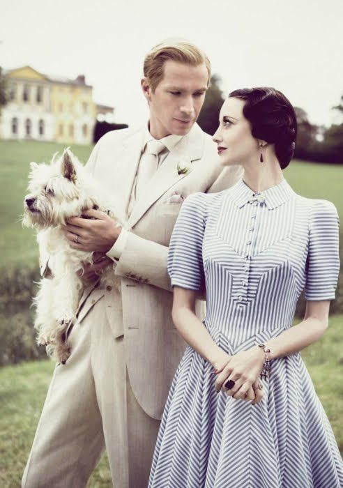 """Nick Verreos: Compare and Contrast: Duke and Duchess of Windsor-- Madonna's """"W.E"""" Movie Costumes & The Real Thing!"""