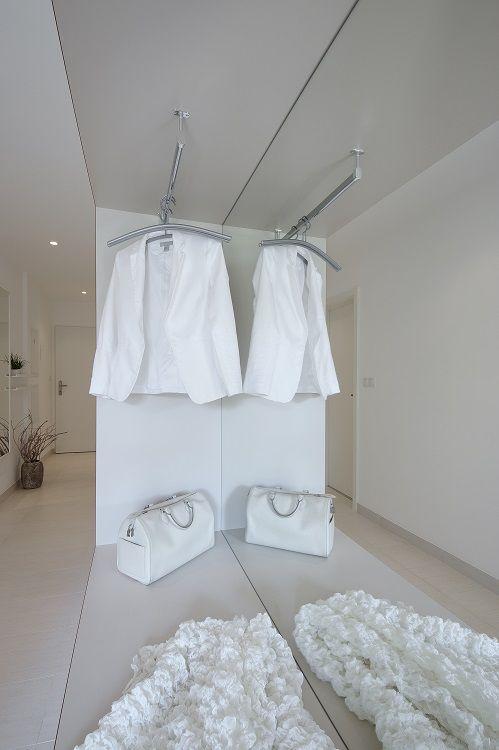 hallway, flat, white