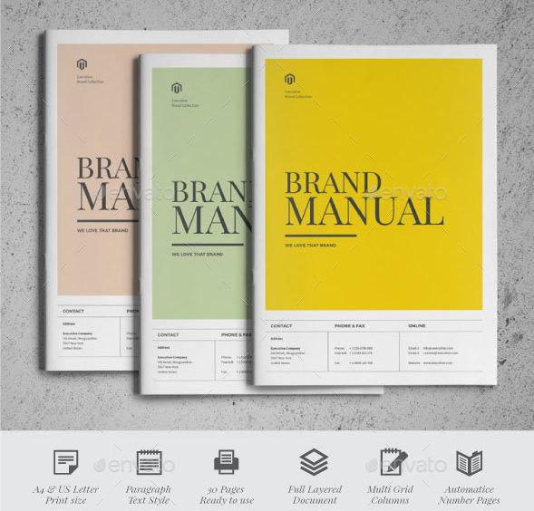 25 best Brochure Template Word Format Designs images on Pinterest - manual templates