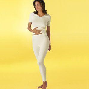 Damen-Spenzer 1/4 Arm mit 20% Angora: 1/4 Arm mit sportlichem runden Kragenabschluss, das Einfassband sorgt für Formstabilität und Haltbarkeit