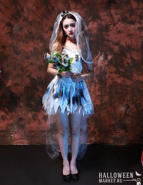 #zombie #bride #makeup #costume #halloweenmarket #halloween  #зомби #костюм #невеста #образ Костюм на хэллоуин: невеста зомби (фото)