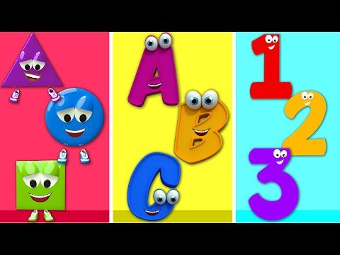 ABC Song | Shapes Song | English Nursery Rhymes And Kids Songs for children - YouTube
