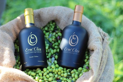 Greek olive products