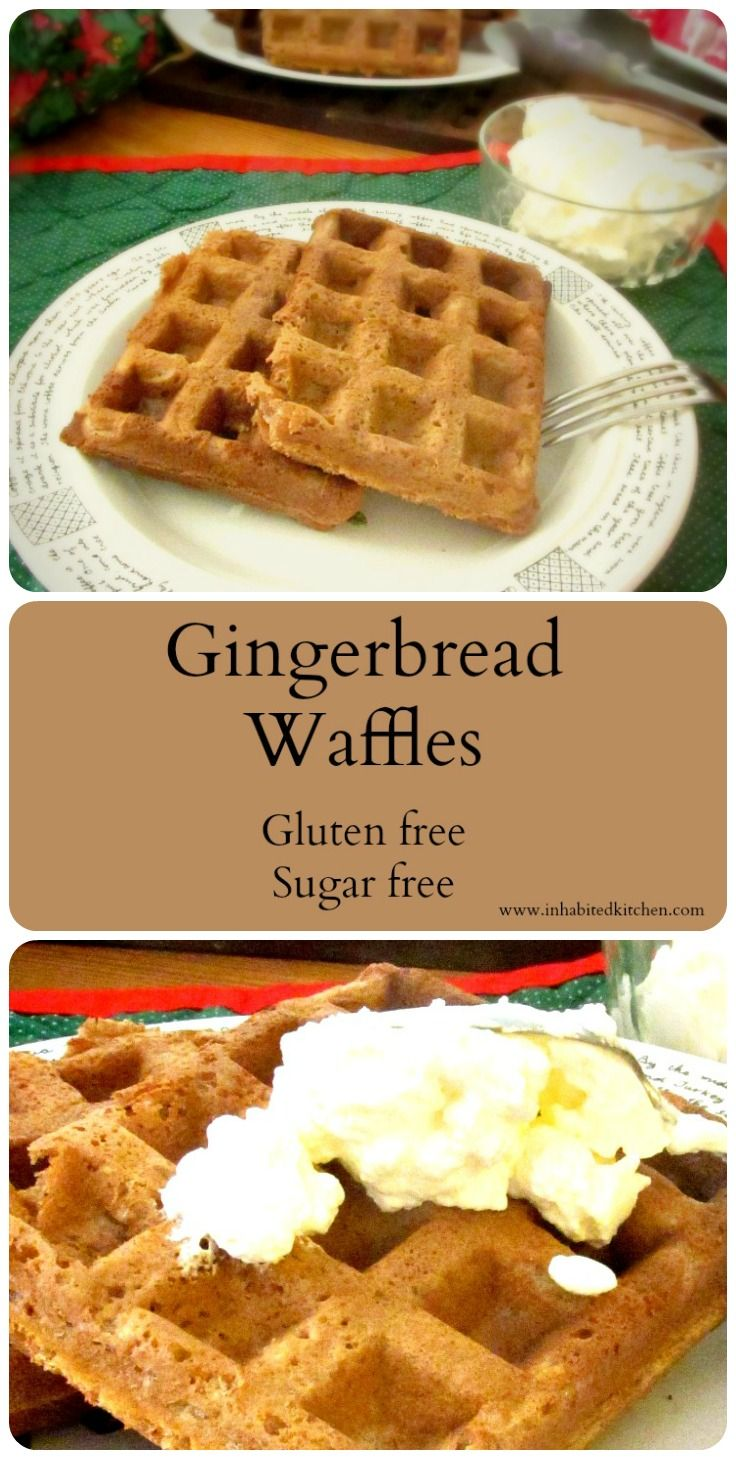 Gluten Free Gingerbread Waffles | Recipe | Warm, Gluten ...