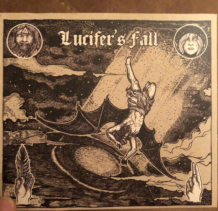 "LUCIFERS FALL ""Lucifer's Fall"" 2014 #australiandoom #doommetal @hammerheartrecords666 #satanicblackmetal"