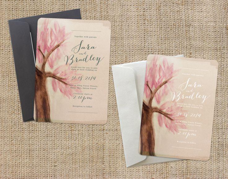 Our Blossom design  www.youroneandonly.com.au