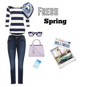 ORSAY California Spring Look! #ORSAY