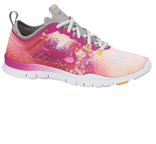 Nike Women\u0027s Free TR Fit 4 Print Training Shoes are built for high-impact  workouts. The uppers feature breathable mesh reinforced with sturdy Flywire  cables ...