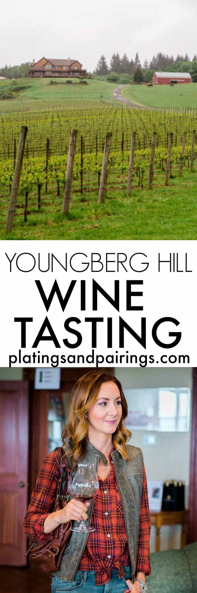 Youngberg Hill Vineyard believes in producing unmanipulated wines - allowing the true nature of the vintage to shine through. Visit them in McMinnville, Oregon for a tasting of Pinot Noir, Pinot Gris and Pinot Blanc | platingsandpairin...