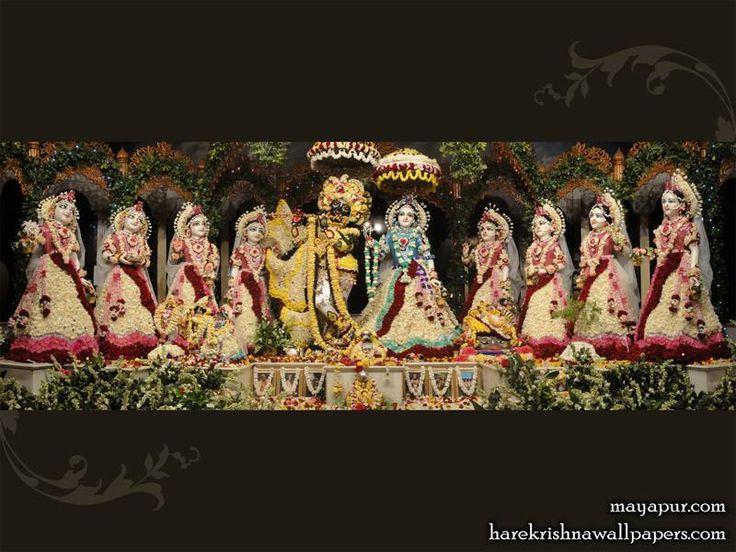 Sri Sri Radha madhav Asta Sakhis