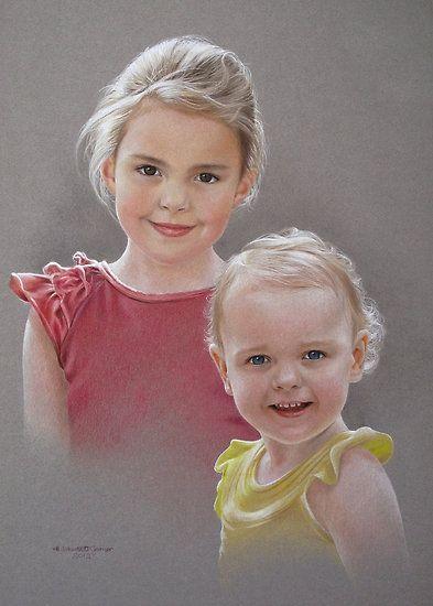 Ella and Dani by Heidi Schwandt Garner