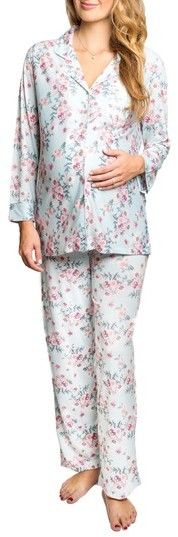 Women's Everly Grey Helena Maternity/nursing Pajamas