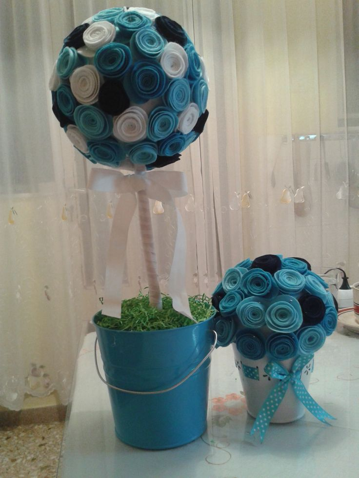TOPIARY WITH FELT