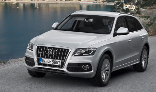 Audi Q5 Hybrid.  I WANT one (if they ever make it to the US).