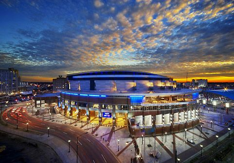 Time Warner Cable Arena...home of the Charlotte Bobcats (soon to return to the Charlotte Hornets!) and Charlotte Checkers.  Great concert venue, as well as many other special events/shows.