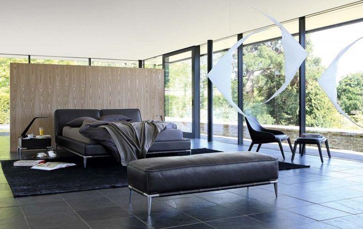 Moderne inspirierende Schlafzimmer Interior Design von Roche Bobois Schlafzimmer Interior Design für moderne Masions (4)