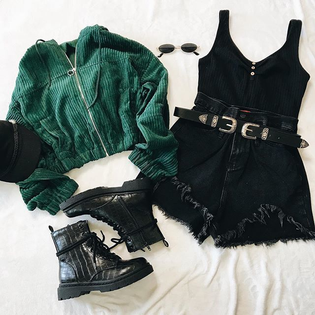 Wear Or Tear Corduroy Hoodie Restocked 20 Off With Code Save20 Shop Links To Each Product In Slytherin Clothes Girls Fashion Clothes Retro Outfits