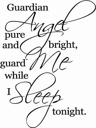 my angel guard me
