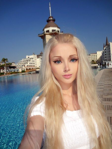 Living Barbie doll uses her looks to promote her spirituality