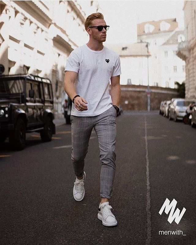 Walk this way. @philippledl wearing the CommeDesGarcons tee