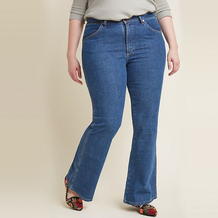 Modcloth x Wrangler® Flared Jean (Plus Sizes) | Products ...