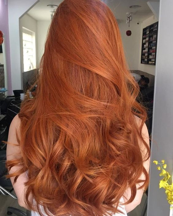 85 Marvelous Orange Hair Style For Cute Women Page 21 Of 22 In 2020 Ginger Hair Color Hair Styles Long Hair Styles