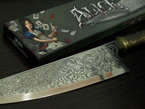 The Vorpal Blade from Alice