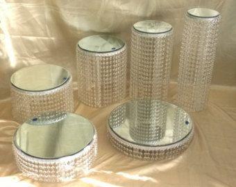 Gâteau de cristal trouve 1 2 3 4-5 ou 6 niveaux en cristal by CrystalWeddingUK   Etsy
