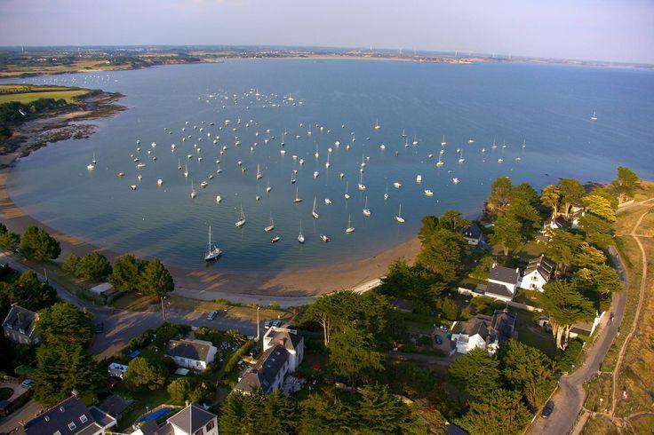 Baie de Kervoyal en Damgan dans le Morbihan (Bretagne) - crédit photo Arnaud Dréan