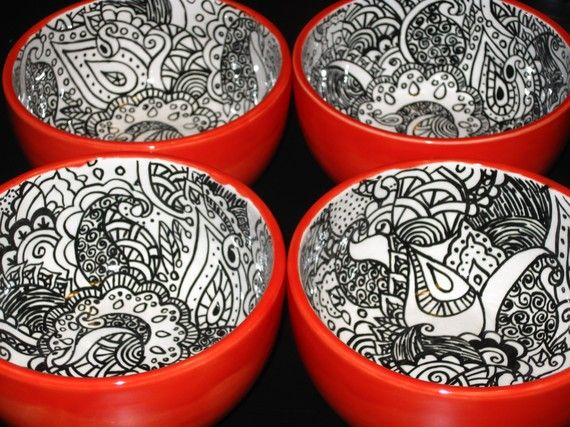 Empty Bowls.