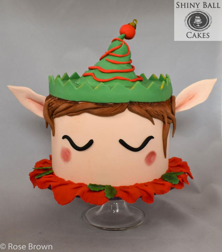 Christmas Elf by Shiny Ball Cakes & Creations (Rose)