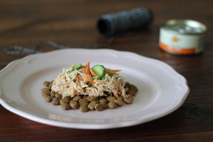La foodblogger Valentina di Cucina e Cantina per la prima volta si è cimentata con una ricetta per i suoi due gatti