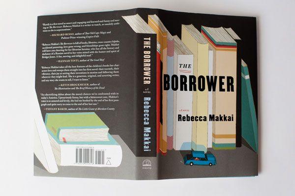 Josh Cochran The Borrower book cover
